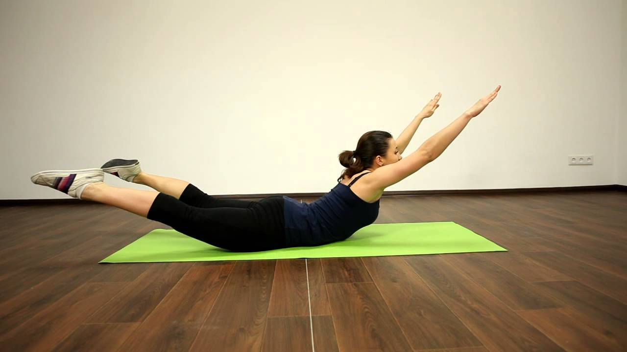 Therapeutic exercises for the back and spine: technique and recommendations.