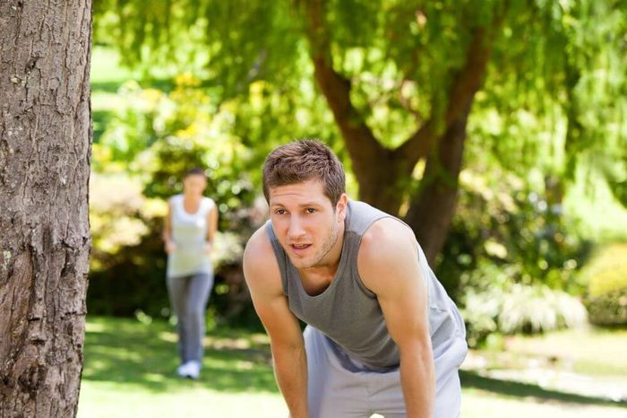 Shortness of breath when walking: cause and effect