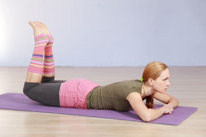 Exercises for the lower back and lower back.
