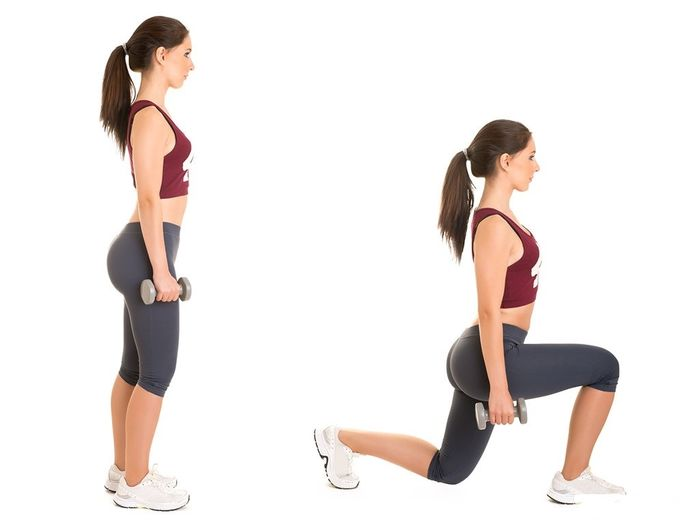 Exercises for the buttocks at home for girls and women.