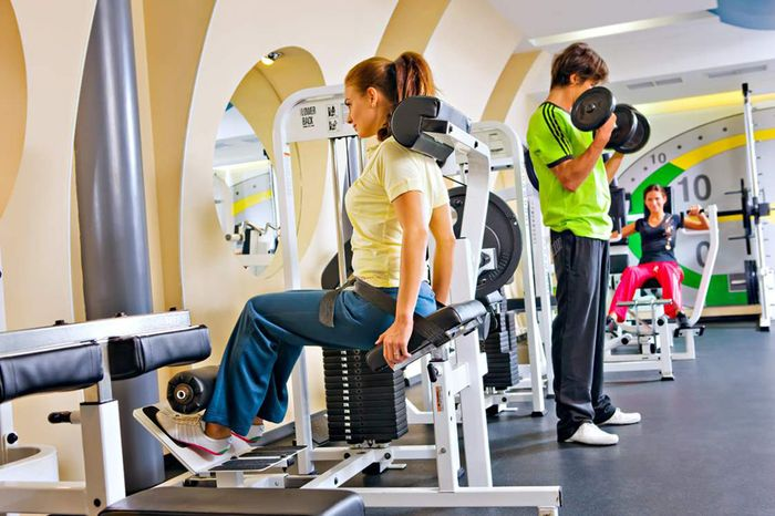 Exercises in the gym: tips for beginners.