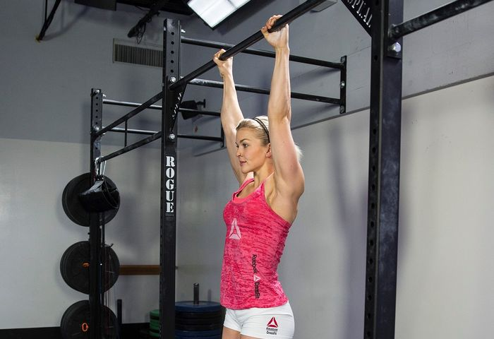 Scheme of pull-ups in the bar and the technique of its implementation.