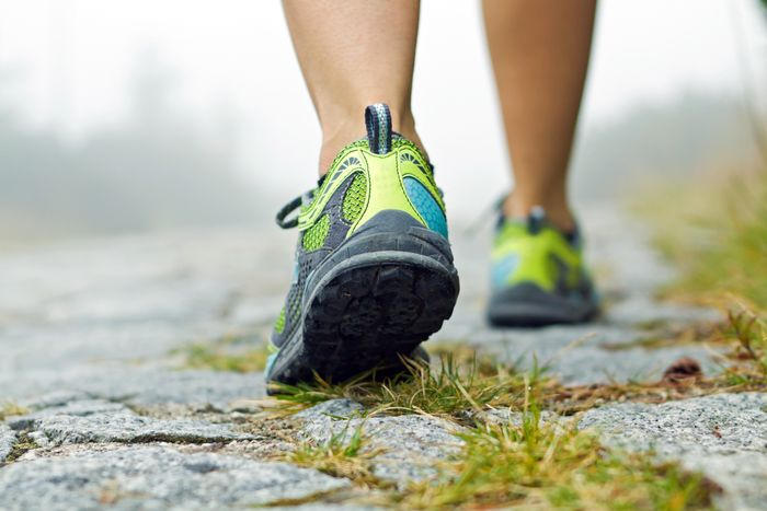 What muscles work when walking and why it is important for health.
