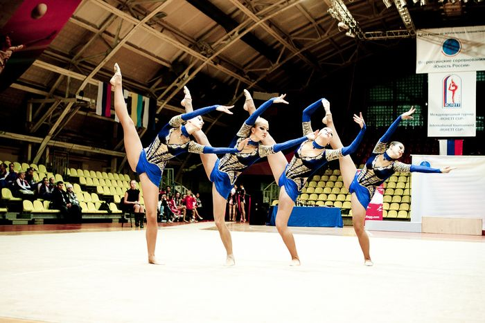 Aesthetic gymnastics: characteristics of sport, training of grace.