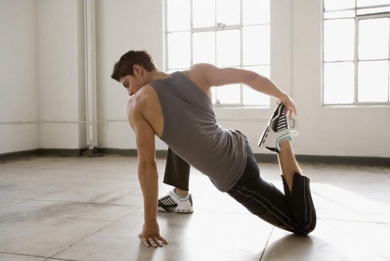 Stretching after exercise: exercises for all parts of the body