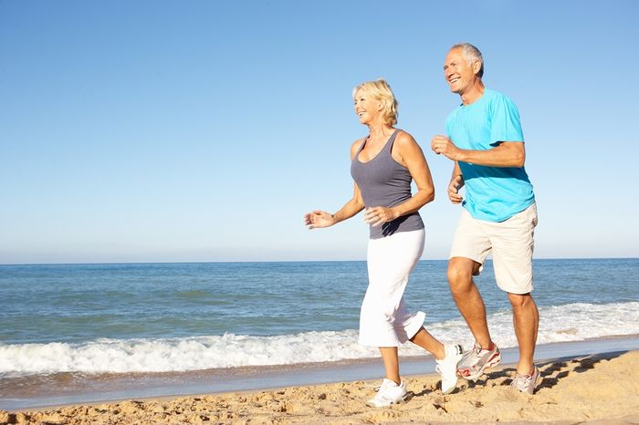 Improves jogging: the benefits of training, especially training.