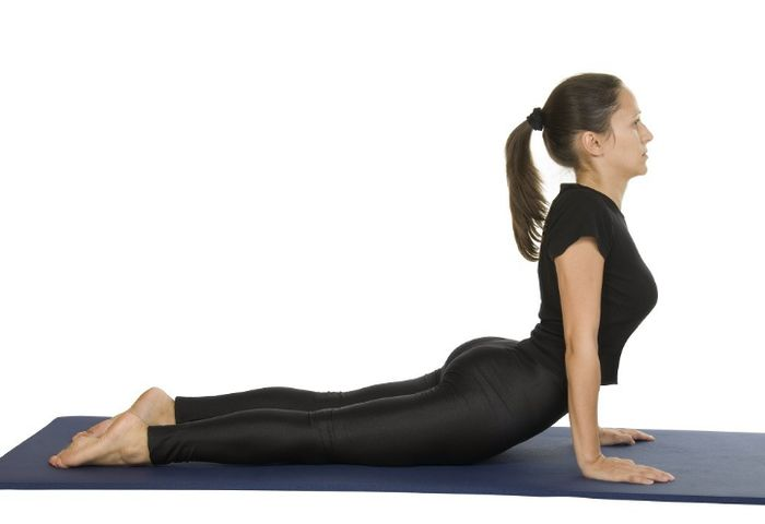 Exercises from the stoop: classes to correct posture.