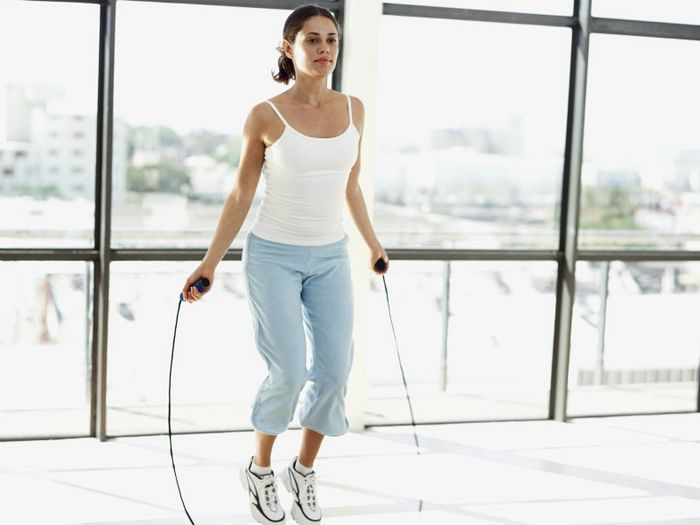 Exercises with a rope to lose weight: technological performance, efficiency.